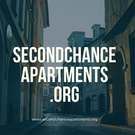 Second Chance Apartments on Facebook