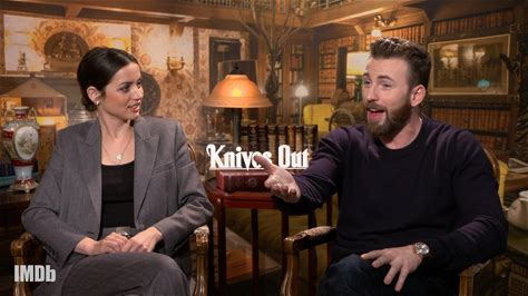 IMDb on the Scene - Interviews -- Stars Chris Evans, Jamie Lee Curtis, Daniel Craig, Don Johnson, Ana de Armas, Jaeden Martell, Katherine Langford, and director Rian Johnson discuss some of the standout acting performances while filming their murder mystery.