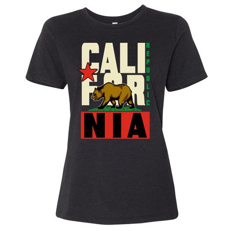 California Republic Original Retro Bold Women's Relaxed Jersey Tee