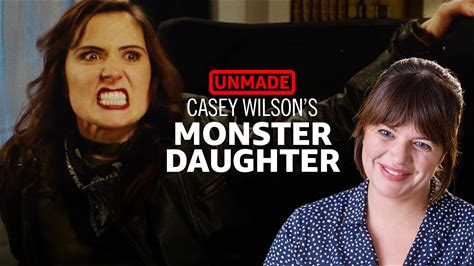 "UnMade -- It's hard for ""SNL"" cast members to get their sketches on the show. But that didn't stop Casey Wilson's dad from writing his own sketch for Casey to star in. ""Monster Daughter"" never made it to air, but it is finally produced for the first time here."