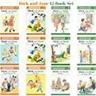 Dick and Jane Level 1 & Level 2 Readers (Set of 12) Ages 3-6