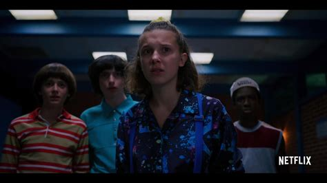 "Stranger Things -- ""Stranger Things"" is heading to the summer of 1985. School's out, there's a brand new mall in town, and the Hawkins crew are on the cusp of adulthood. When the town's threatened by enemies old and new, Eleven and her friends are reminded that evil never ends; it evolves. Now they'll have to band together to survive, and remember that friendship is always stronger than fear."