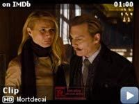 Mortdecai -- Watch an exclusive clip for Mortdecai, the action comedy that stars Johnny Depp as art dealer Charles Mortdecai, who takes up the hunt for a stolen painting that's reportedly linked to a lost bank account filled with Nazi gold.