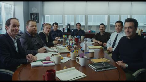 Late Night -- Katherine Newbury (Emma Thompson) pays a visit to her writers' room in 'Late Night.'