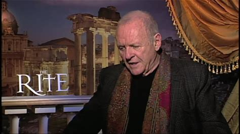 The Rite -- IMDb interviews Sir Anthony Hopkins about his latest film, The Rite.