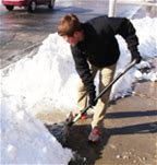 Seeking Assistance with Sidewalk Shoveling