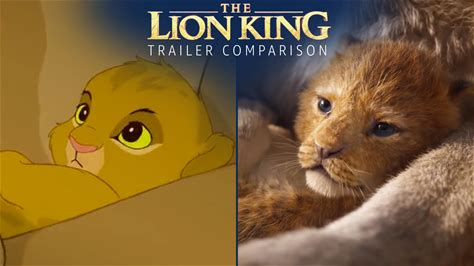 IMDb Originals -- Does the new teaser trailer for 'The Lion King' look familiar? Check out our side-by-side comparison with scenes from the original 'The Lion King.'