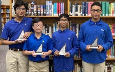 HA Middle School MathCounts team advances to the state tournament