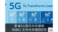 緊擁5G通訊未來趨勢 – 00861