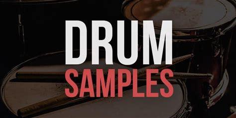 750 Free Drum Samples - 7 Free Drum Kits