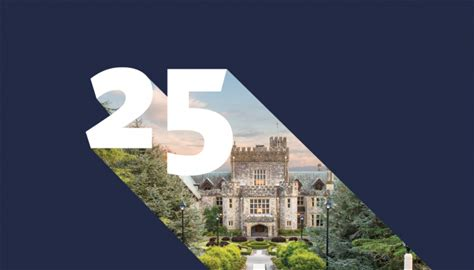 RRU's 25th Anniversary This year marks the 25th anniversary of Royal Roads University.