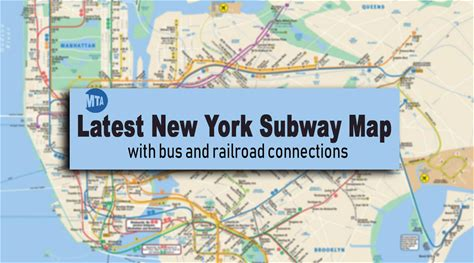 New York Subway Map: Latest Version with Line and Station Changes