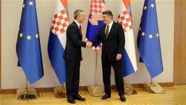 NATO Secretary General visits Croatia