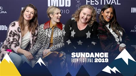 The IMDb Studio at Sundance -- Emma Roberts and her 'Paradise Hills' co-stars Milla Jovovich, Eiza González, and Danielle Macdonald chat about their new Sundance movie, their past successes, and some of their future projects.