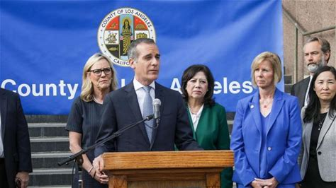 Mayor Garcetti Strengthens Readiness Against Coronavirus by Declaring Local Emergency March 4, 2020