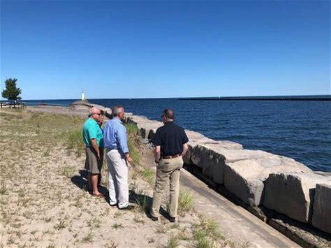 Rep. Katko, FEMA Acting Administrator Gaynor Visit Lake Ontario Shoreline to Assess Damage, Discuss Mitigation Process