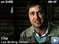 Law Abiding Citizen -- Clip: It's what you can prove in court