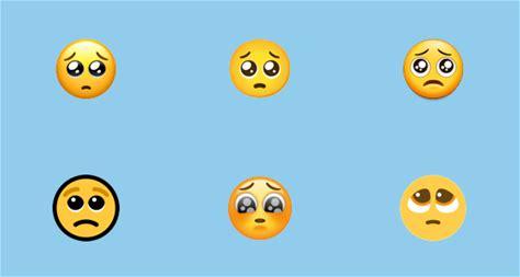 🥺 Pleading Face Emoji