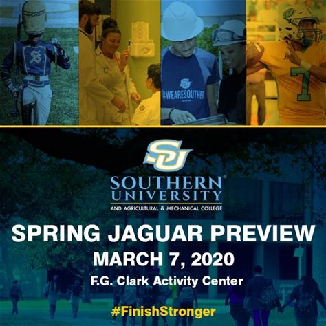 Spring Jaguar Preview on March 7