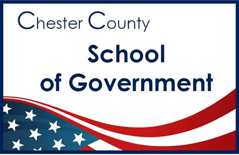 Chester County Commissioners announce School of Government spring 2017 classes