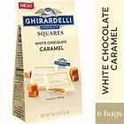 White Chocolate Caramel SQUARES Medium Bags (Case of 6)