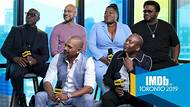 IMDb at Toronto International Film Festival -- Wesley Snipes, Keegan-Michael Key, Craig Robinson, Da'Vine Joy Randolph, Mike Epps, and Tituss Burgess share their feelings about what it was like to work with Eddie Murphy on the 'My Name Is Dolemite' set.