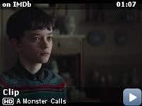 A Monster Calls -- Here's an exclusive clip from 'A Monster Calls,' featuring Sigourney Weaver and Lewis MacDougall, which follows the story of a boy seeking the help of a tree monster to cope with his single mom's terminal illness.