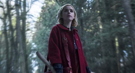 Chilling Adventures of Sabrina -- On her 16th birthday, Sabrina (Kiernan Shipka) has to make a choice between the witch world of her family and the human world of her friends. With her aunties, her cat Salem, and her boyfriend Harvey Kinkle, Sabrina will face horrors and new adventures in the mysterious town of Greendale.