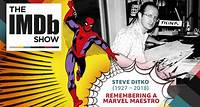 """The IMDb Show -- The world lost a comic book legend, so on today's IMDbrief, we remember Steve Ditko, Marvel Maestro. Best known for partnering with Stan Lee at Marvel to create Spider-Man and Doctor Strange, Steve Ditko had his first cover art published in 1954. He worked at Joe Simon and Jack Kirby's studio before moving on to work with Stan Lee soon after. When Lee was dissatisfied with Kirby's concept art for Spider-Man, calling it """"too heroic,"""" he sought out Ditko's interpretation instead."""