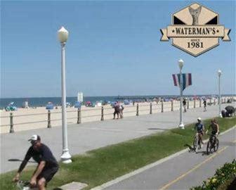 Watermans Webcam on Virginia Beach Boardwalk