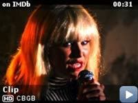 CBGB -- Clip: Blonde Intros and Sings Denise