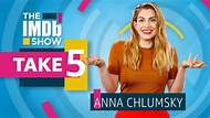 """The IMDb Show -- Anna Chlumksy, star of HBO comedy """"Veep,"""" cracks up at her favorite moment from the show and reveals what scene in 'Moana' always makes her cry."""