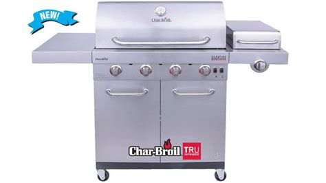 4-BURNER INFRARED GAS GRILL
