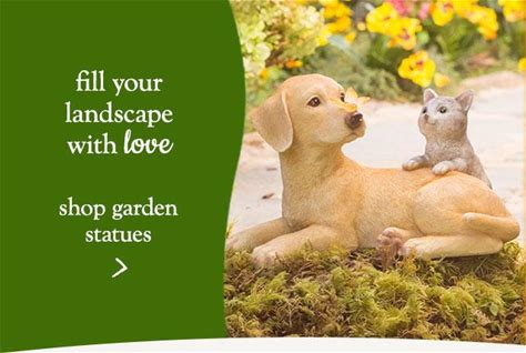 Fill your landscape with love. Shop garden statues.