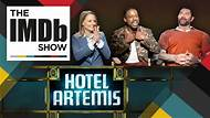 The IMDb Show -- The star-studded cast of the action-packed 'Hotel Artemis' try to guess movie titles using related keywords and phrases as clues. May the best actor win.