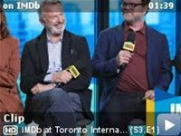 IMDb at Toronto International Film Festival -- When you make an intimate family drama, sometimes you get tattooed with your co-stars and director. See the tattoos that Susan Sarandon encouraged her co-star Rainn Wilson and director Roger Michell to get. Sam Neill, always the gentleman, refrains from bearing his ink.
