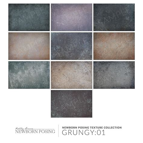 Grungy Texture Collection : 01 for Photoshop