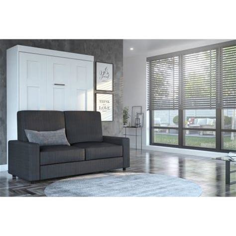 Sale Starts at $2,110.49 Bestar Edge 2-Piece Wall Bed and Sofa Set