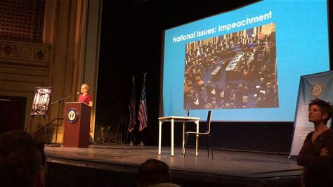 U S Rep Chrissy Houlahan Discusses Impeachment Vote