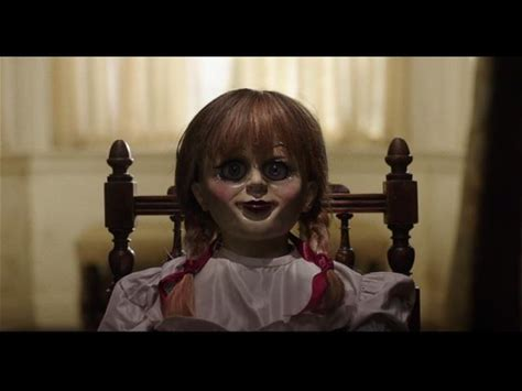 Annabelle: Creation -- Several years after the tragic death of their little girl, a dollmaker and his wife welcome a nun and several girls from a shuttered orphanage into their home, soon becoming the target of the dollmaker's possessed creation, Annabelle.