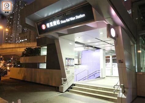 筲箕灣黑衣人塗鴉港鐵站 雪糕筒堵路遭警驅散