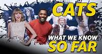 """So Far -- After years in development, the film adaptation of Broadway musical """"Cats"""" will claw its way into theaters this year. Here's what we know about 'Cats' so far."""