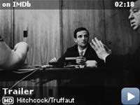 """Hitchcock/Truffaut -- Filmmakers discuss how Francois Truffaut's 1966 book """"Cinema According to Hitchcock"""" influenced their work."""