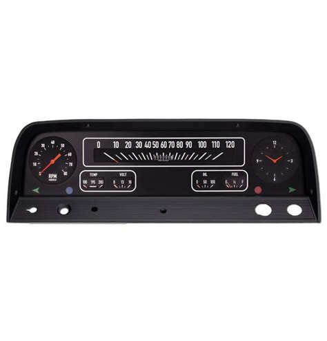 (1964-66) Chevy Truck Aftermarket Gauge Package