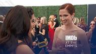"""IMDb at the Emmys -- Two-time Emmy nominee Ellie Kemper sings the theme of """"Unbreakable Kimmy Schmidt"""" to IMDb, reveals what keeps her motivated, and shares her ambition to guest star on """"The Marvelous Mrs. Maisel."""""""