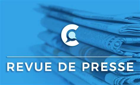 Revue de presse du 03/10/2021