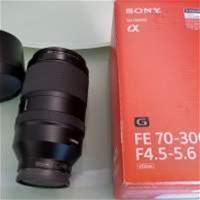 Sony FE 70-300mm F4.5-5.6 G OSS 99%新 HK$6,300