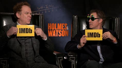 IMDb on the Scene - Interviews -- 'Holmes & Watson' stars Will Ferrell, John C. Reilly, Rebecca Hall, and Lauren Lapkus reveal who would make the best detective, their favorite Sherlock Holmes stories, and more.