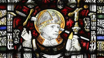 Thomas Becket Thomas Becket (aka Thomas á Becket and St. Thomas of Canterbury) served as chancellor to Henry II of England (r. 1154-1189 CE) and