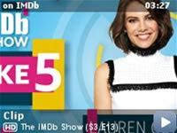 """The IMDb Show -- Lauren Cohan, star of new comedic spy thriller """"Whiskey Cavalier,"""" divulges top-secret information about her favorite TV couple, which actress should play James Bond, and what show she is currently binging."""